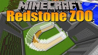 Das ist schon das letzte Gebäude! - Minecraft Redstone Zoo #66