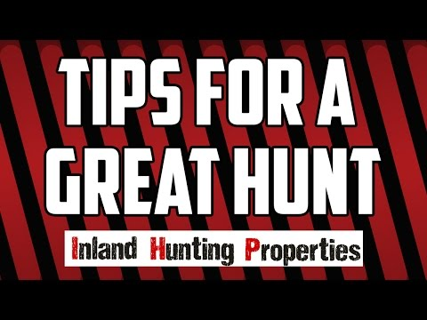 IHP NEWS | Tips For A Great Hunt | Inland Hunting Properties Australia