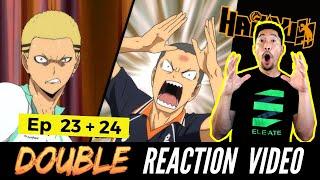 Volleyball Coach Reacts to HAIKYUU S2 E23 + 24 - Seijoh vs Karasuno Rematch with Mad Dog Kyotani
