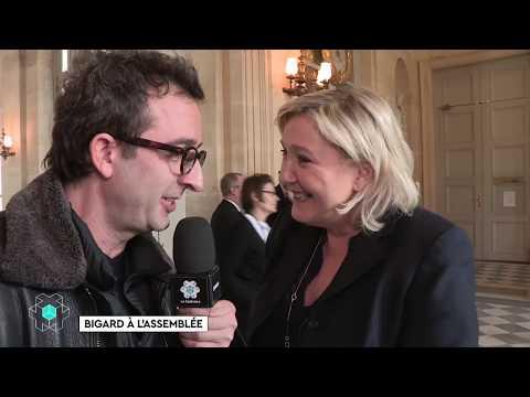 Bigard au Sénat - La Case en + du 24/02 - CANAL+