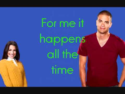 Glee Cast - I Need You Now (Lyrics on screen/description)