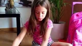 Video 01 - Material escolar - Letícia -Violetta