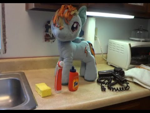 Plush Cleaning Tutorial