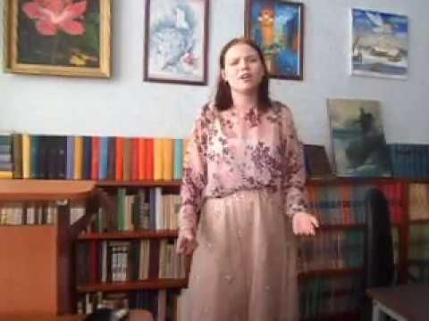 Изображение предпросмотра прочтения – АнастасияЗагребина читает произведение «Ну что ты не спишь» Э.А.Асадова