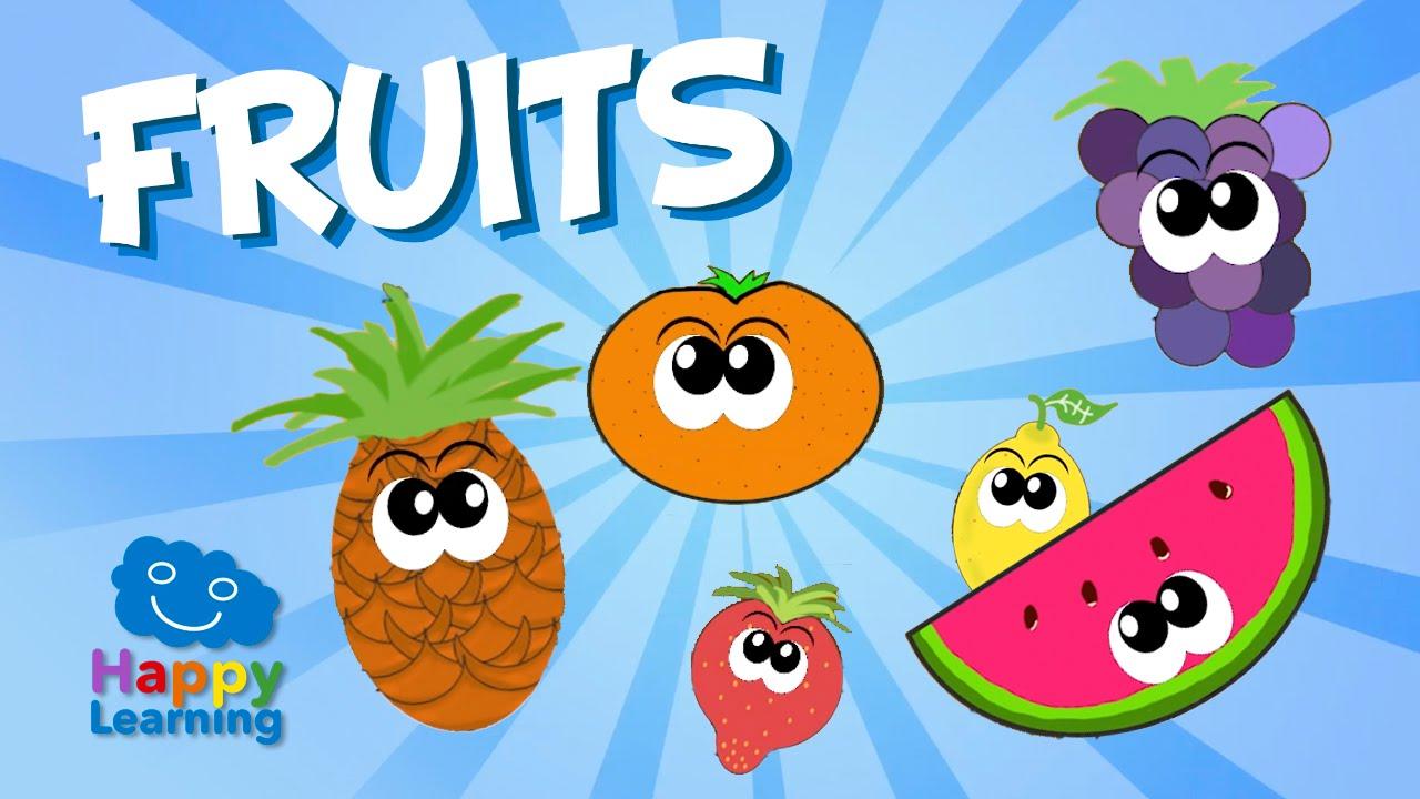 Aprende Inglés Las Frutas En Inglés Videos Educativos Para Niños