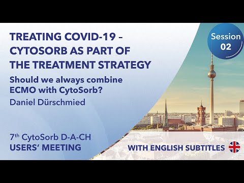 ECMO | 7th CytoSorb User Meeting D-A-CH | Daniel Dürschmied