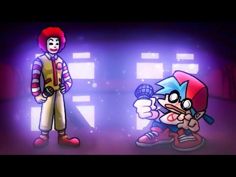 ME DESAFIARAM JOGAR ESSES MODS! PASSEI? Ronald McDonald se piscar morreu. Friday Night Funkin - Core