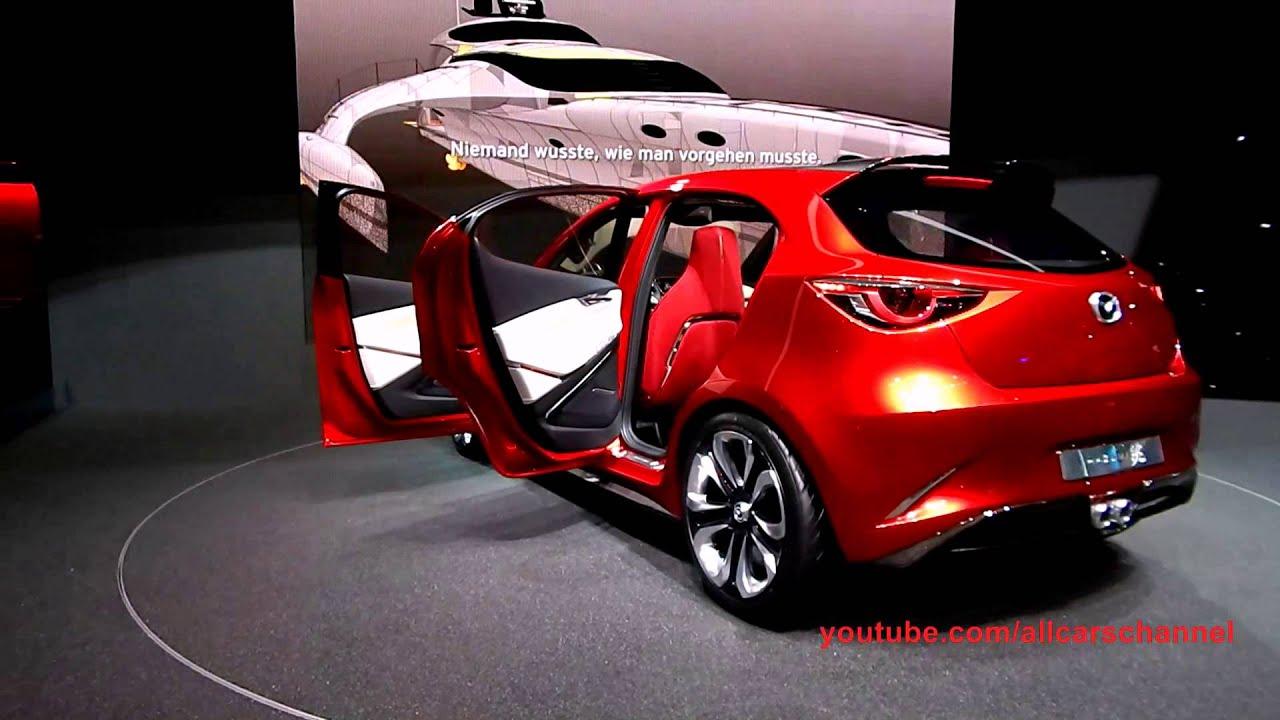 Mazda Hazumi Concept. Exterior and interior. Debut at Geneva Motor ...