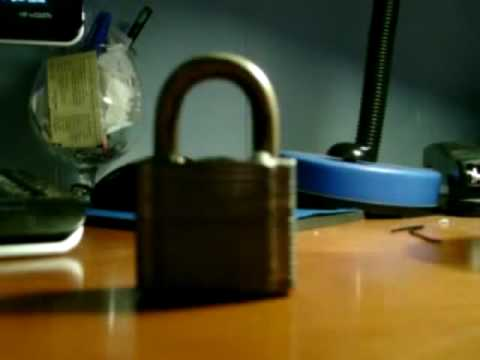How to pick a lock with a bobby pin YouTube