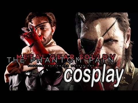 My cosplay of Metal Gear Solid V: The Phantom Pain
