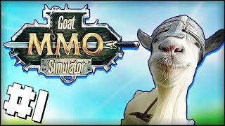 O MELHOR MMO DO MUNDO! - Goat MMO Simulator #1
