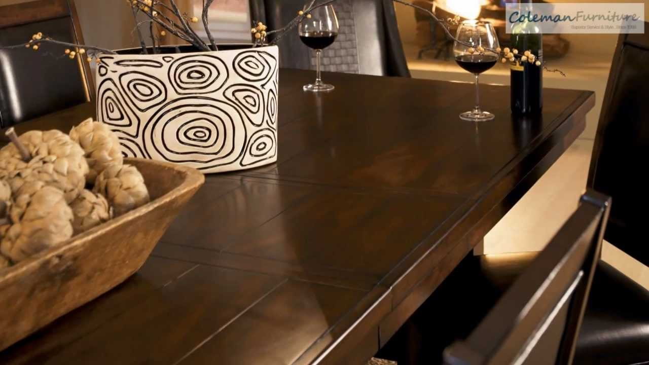 Holloway Dining Room Collection From Millennium By Ashley   YouTube