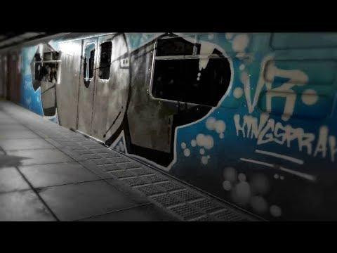 [KINGSPRAY] - VR Virtual Reality Graffiti Simulator | 1UP VR COSMO #007