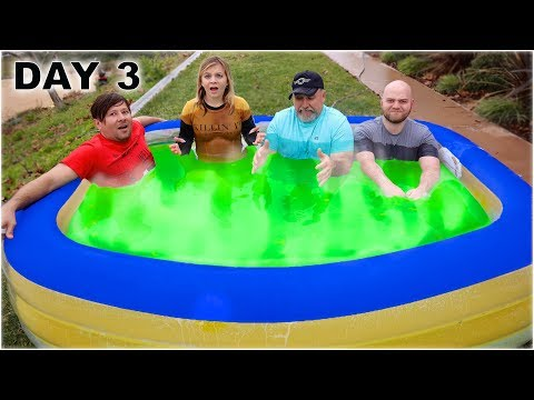 LAST To LEAVE The HOT SLIME Pool WINS $5000!
