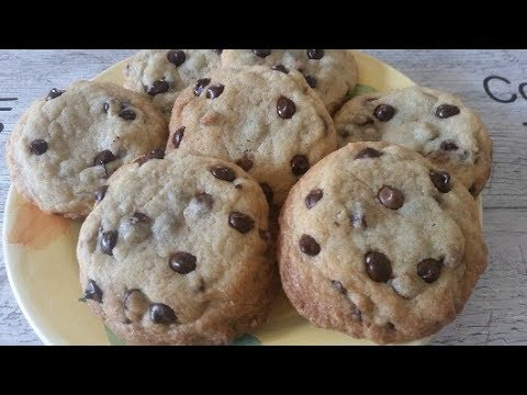 dark-chocolate-chip-cookies.-cookies-aux-pépites-de-chocolat-noir