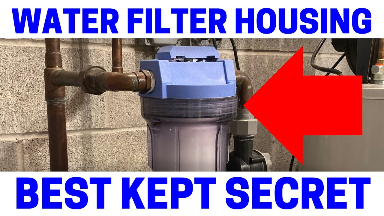 The Best Whole House Quick Change Water Filter Housing