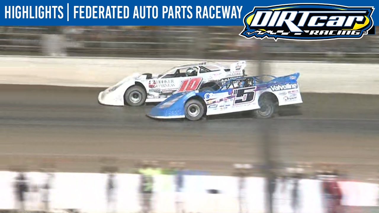 DIRTcar Summer Nationals Late Models Federated Auto Parts Raceway August 15, 2020 | HIGHLIGHTS