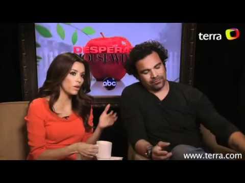 Desperate Housewives: Eva Longoria & Ricardo Antonio Chavira EXCLUSIVE INTERVIEW