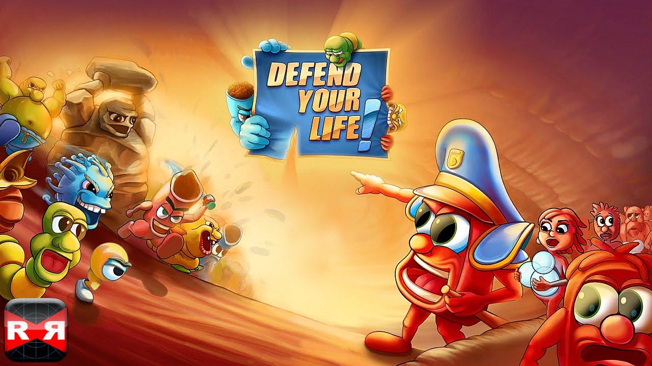اللعبه الاستراتيجيه المختلفه : Defend your life v1.0077 مهكره جاهزه