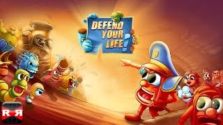 Defend Your Life! (By Alda Games) - iOS / Android / Windows Phone - Gameplay Video