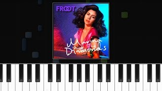 "Marina & The Diamonds - ""Froot"" Piano Tutorial - Chords - How To Play - Cover"