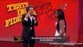 Repeat youtube video Teste de Fidelidade 02/03/13 - Completo - João Kléber - Sabado - Rede Tv