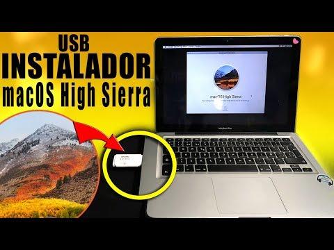 INSTALAR MacOS HIGH SIERRA DESDE USB | CREAR USB BOOTEABLE
