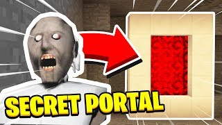 WE FOUND GRANNYS SECRET PORTAL! (Ps3/Xbox360/PS4/XboxOne/PE/MCPE)