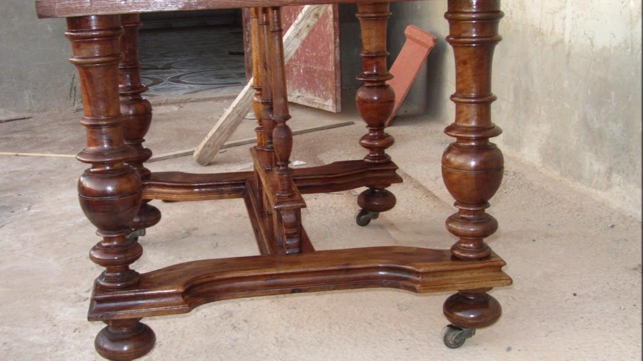 renovation d une ancienne table en bois