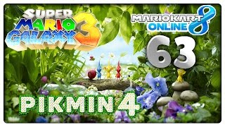 MARIO KART 8 ONLINE Part 63: Pikmin 4, Super Mario Galaxy 3 & Ace Attorney 6