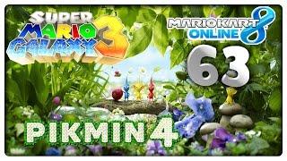 MARIO KART 8 ONLINE Part 63: Pikmin 4, Super Mario Galaxy 3 & Ace Attorney 6