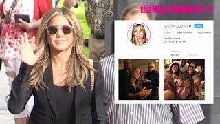 Jennifer Aniston's Fans Jokingly Beg For An Instagram Follow While Arriving To Jimmy Kimmel Live!