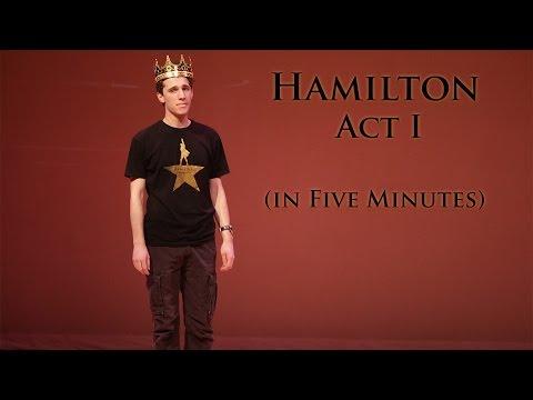 Hamilton Act I In 5 Minutes