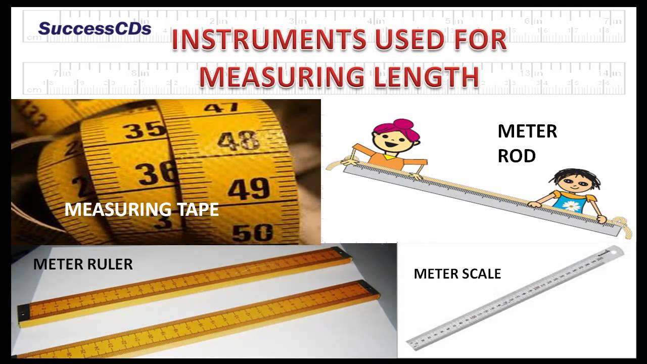 Used Measuring Instruments : Measurement cbse ncert science youtube