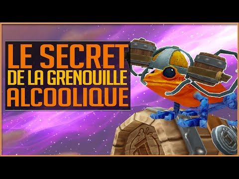 LE SECRET DE LA GRENOUILLE ALCOOLIQUE