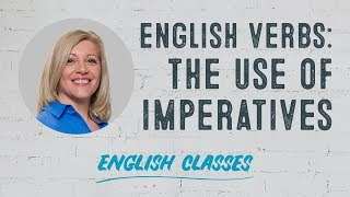 How to use imperative verbs in English | ABA English