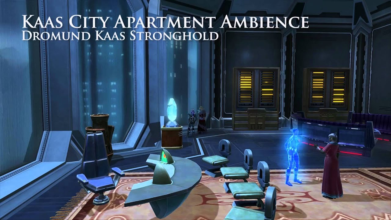 Star Wars Swtor Kaas City Apartment Stronghold Background Ambience