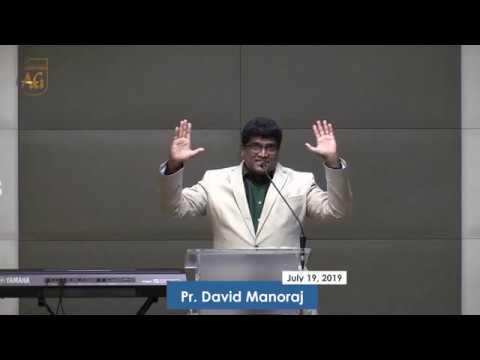 Ps David   English Sermon   19 July 2019