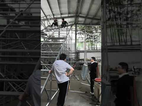 Stainless Steel Slide Children Park Outdoor Playground Equipment Processing Video
