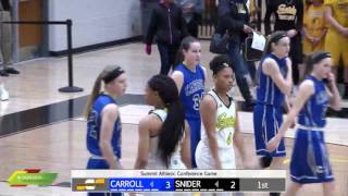 Watch Live: Carroll at Snider | Girls Basketball Broadcast thumbnail