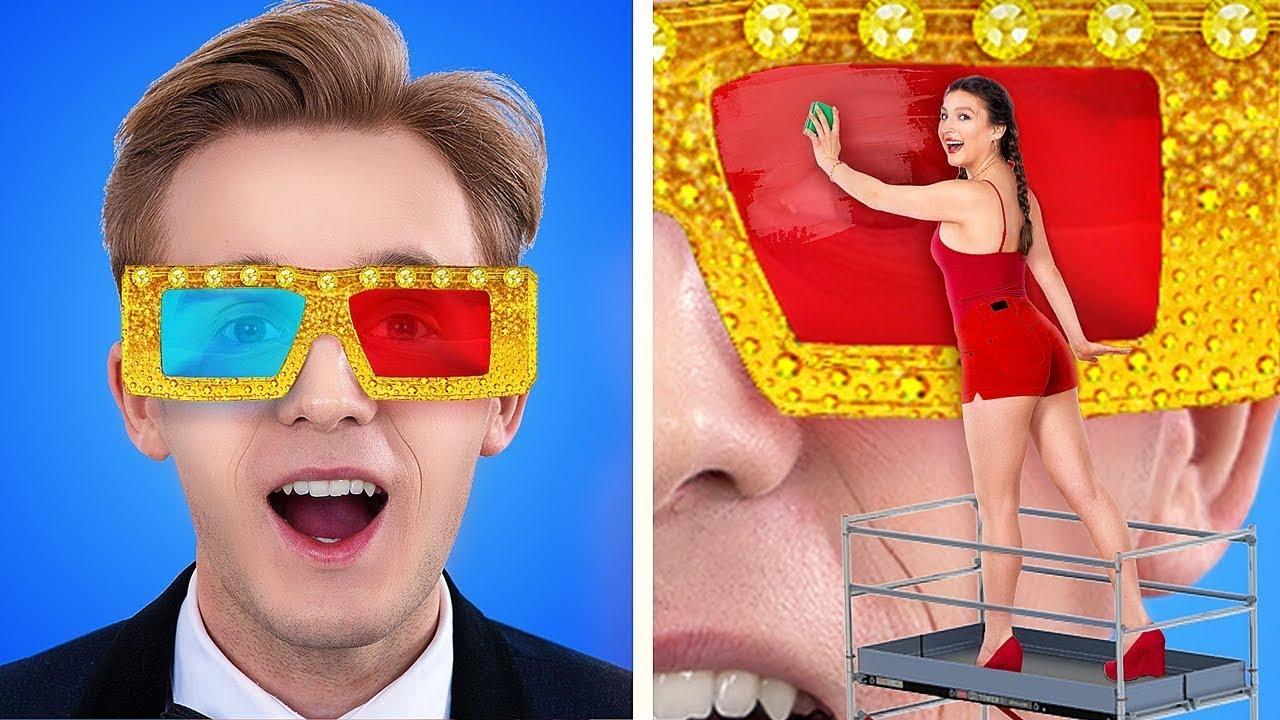 Бедный vs богатый кинотеатр / Если бы предметы были людьми / Пранки / Смешные ситуации в колледже