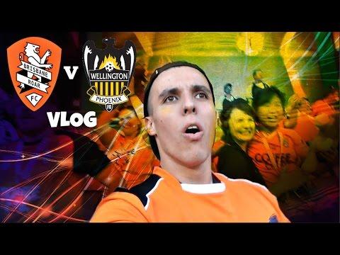 """SHOOT THE DAMN BALL!""   Brisbane Roar v Wellington Phoenix   Game Day Experience   Vlog"