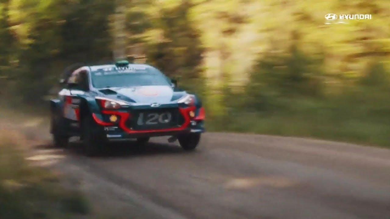 Ελληνική διαφήμιση Hyundai i20 coupe WRC 2020