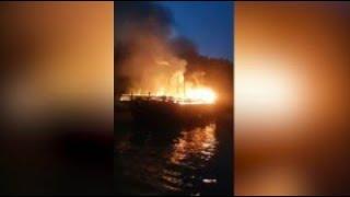 Kapal Pengangkut Barang Ekspor Dilempar Bom Molotov oleh Orang Tak Dikenal
