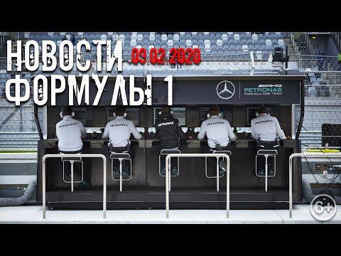 Новости Формулы 1. От 9 Февраля 2020 года.