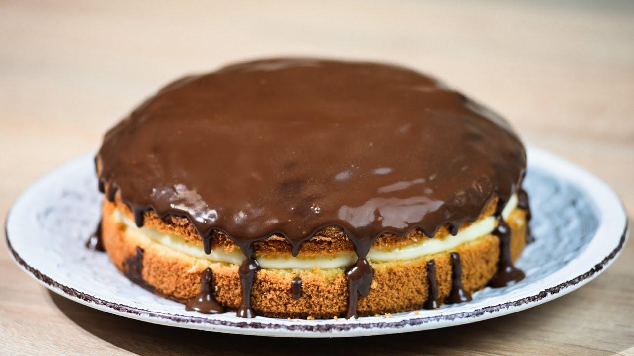 Бостонский торт рецепт с фото пошагово