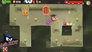 King Of Thieves - Raiding a deep gold semi perfect in a saw jump base by Ash KOT