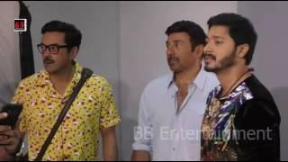 Poster Boys Movie Sunny Deol - Bobby Deol - Shreyas Talpade On Location Shoot At Mehboob Studio
