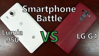 Microsoft Lumia 950 vs LG G4! Flagship Smartphone Comparison Battle!