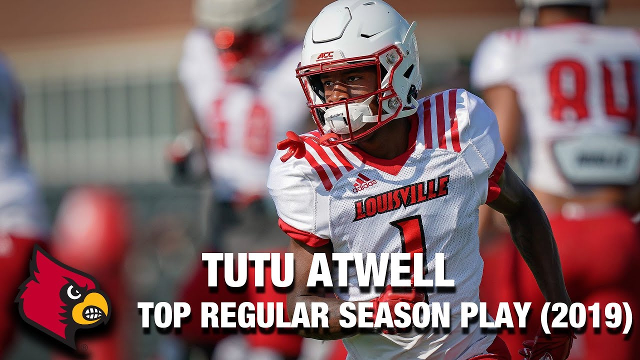 Louisville WR Tutu Atwell   2019 Top Regular Season Play